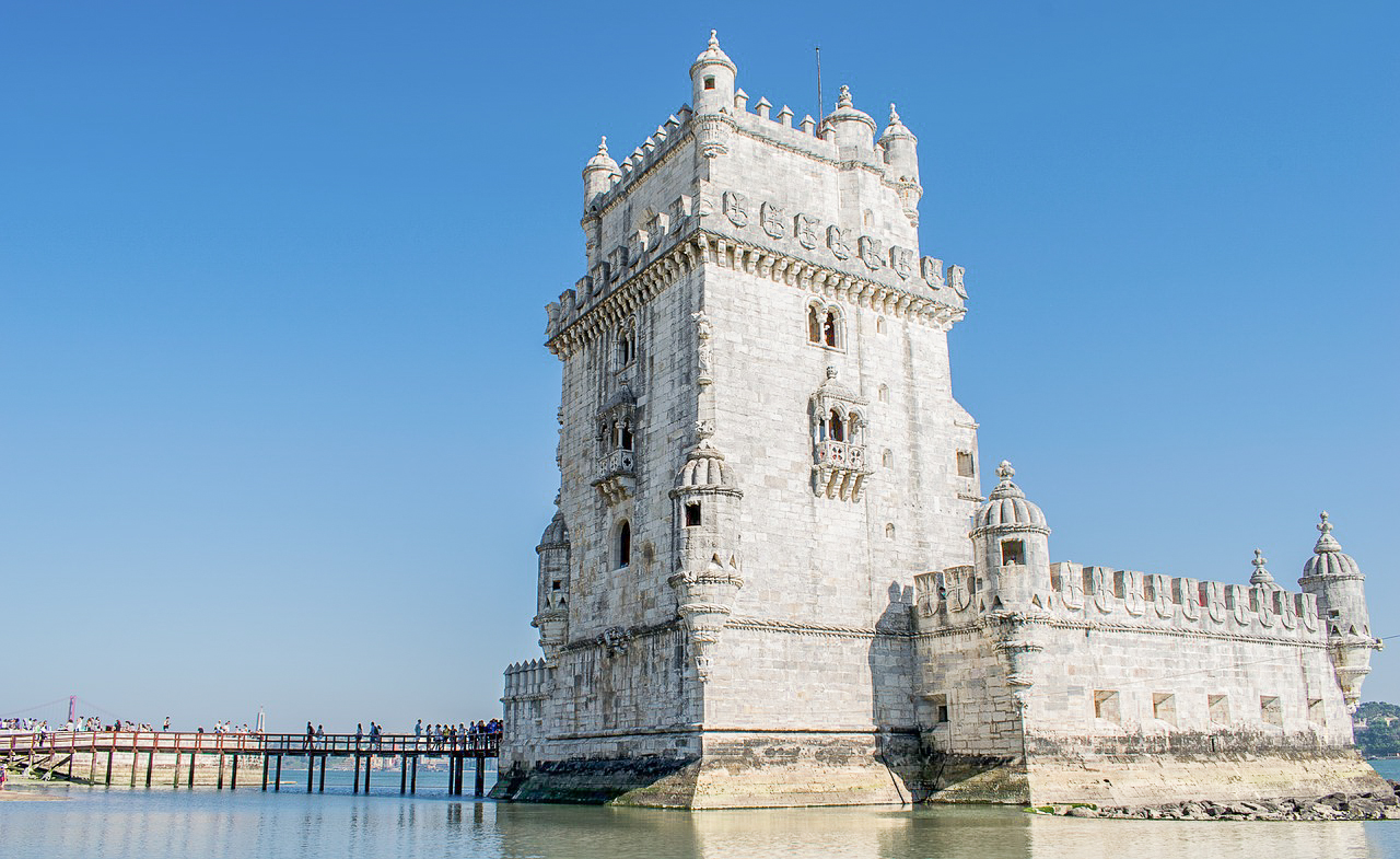 Belem Tower is Lisbon's iconic landmark.