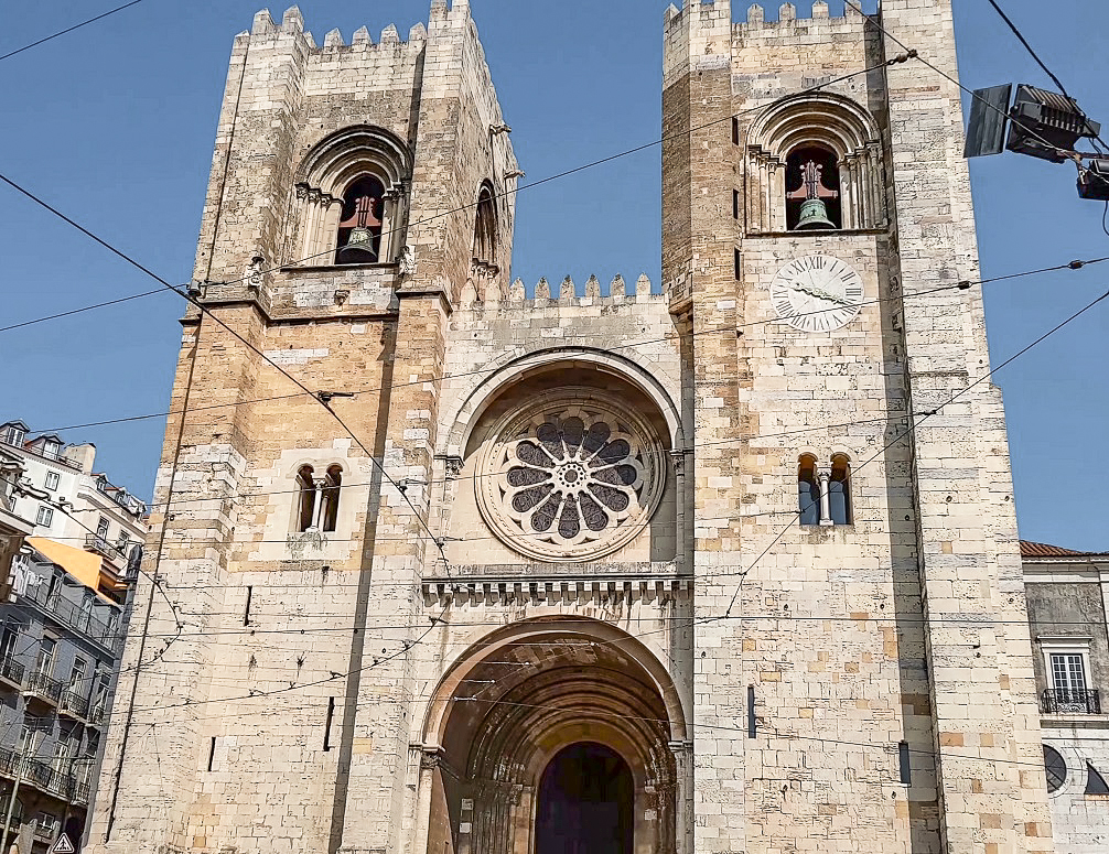 Lisbon Cathedral is a sight not to be missed during your 3 days in Lisbon.