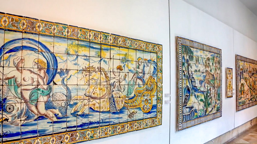 Don't miss the national tile museum during your 3 days in Lisbon!
