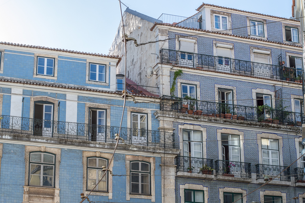 Don't forget to take your camera on your walk through the Alfama district during your 3 days in Lisbon.