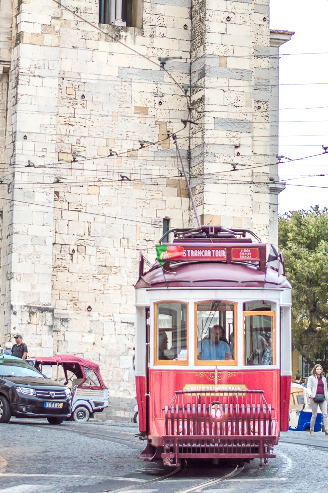 A ride on tram 28 is a must during your weekend in Lisbon.