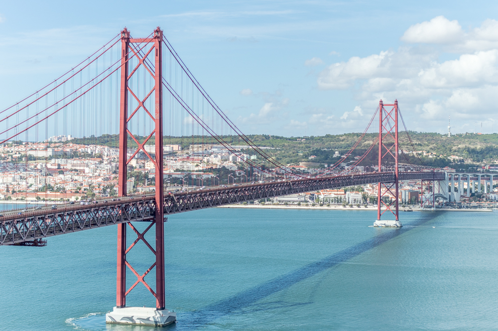 The view from Cristo Rei in Lisbon is nothing but spectacular.