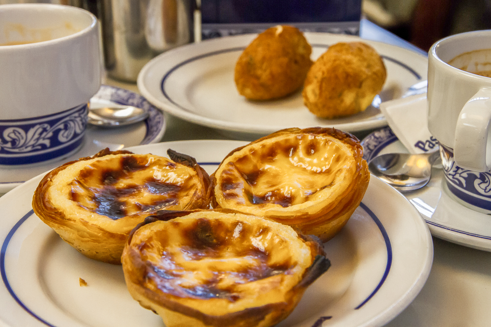 Start your 3 days in Lisbon with this traditional Portuguese pastry, pastel de nata at Pasteis de Belem.