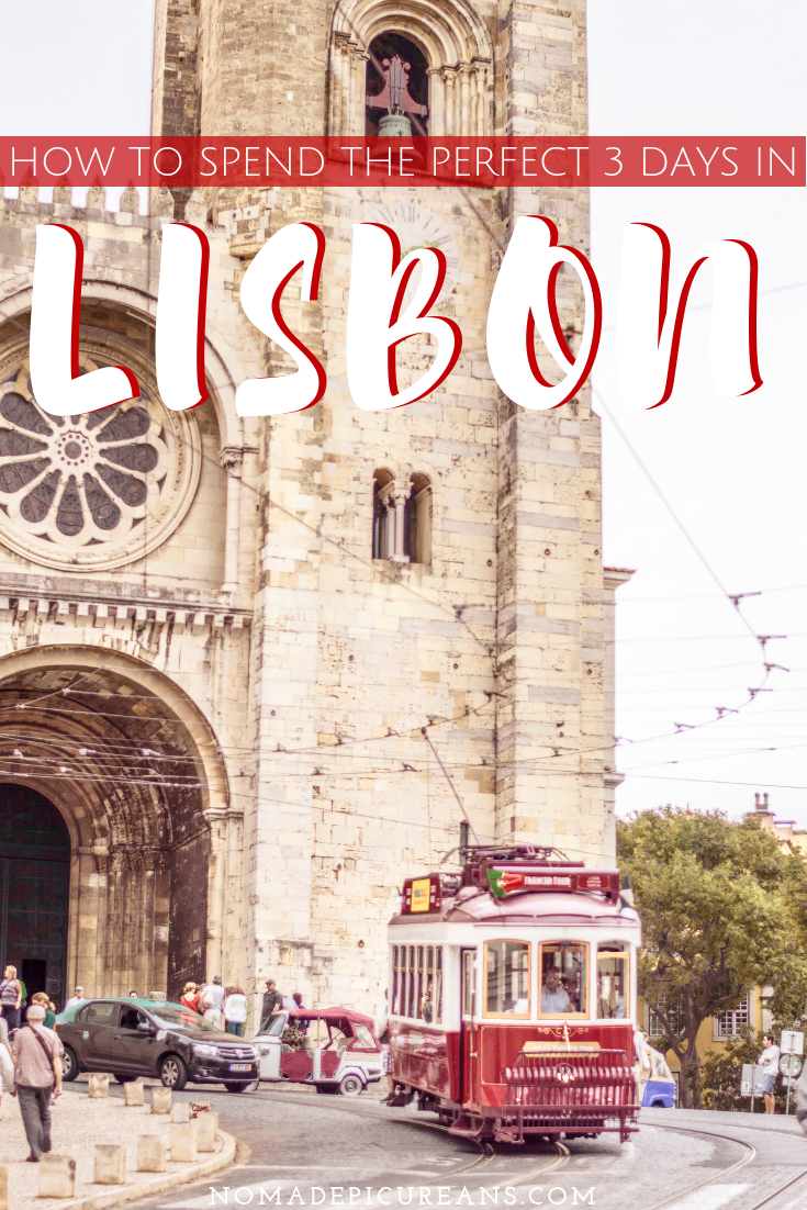 3 days in Lisbon is just the perfect amount of time to explore all of the city's highlights as well as some hidden gems. Make the most out of your time with our 3 day Lisbon itinerary. Includes tips by a Lisbon local! #travel #portugal #lisbon