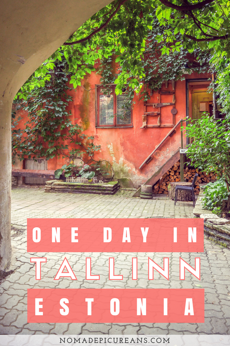Tallinn is one of the few cities in the Nordics with a true medieval core and well worth a visit. Why not take a ferry from Helsinki to Tallinn and spend one day in Tallinn exploring? Use our one day itinerary for Tallinn to make the most of your trip! #travel #estonia #tallinn
