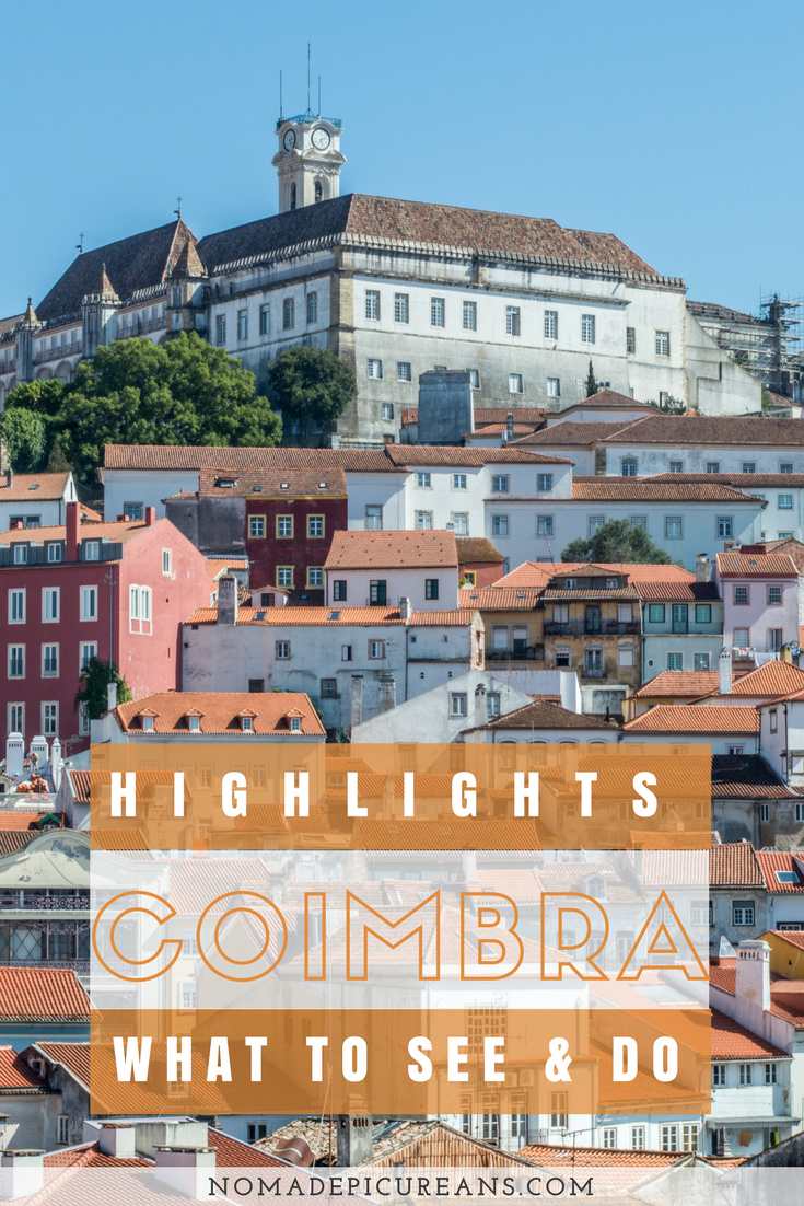 Coimbra is perfectly located between Lisbon and Porto. As a student town, it is famous for its nightlife. If you are planning a visit, check out our recommendations on what to do in Coimbra. Includes a list of Coimbra points of interest. #coimbra #portugal #travel