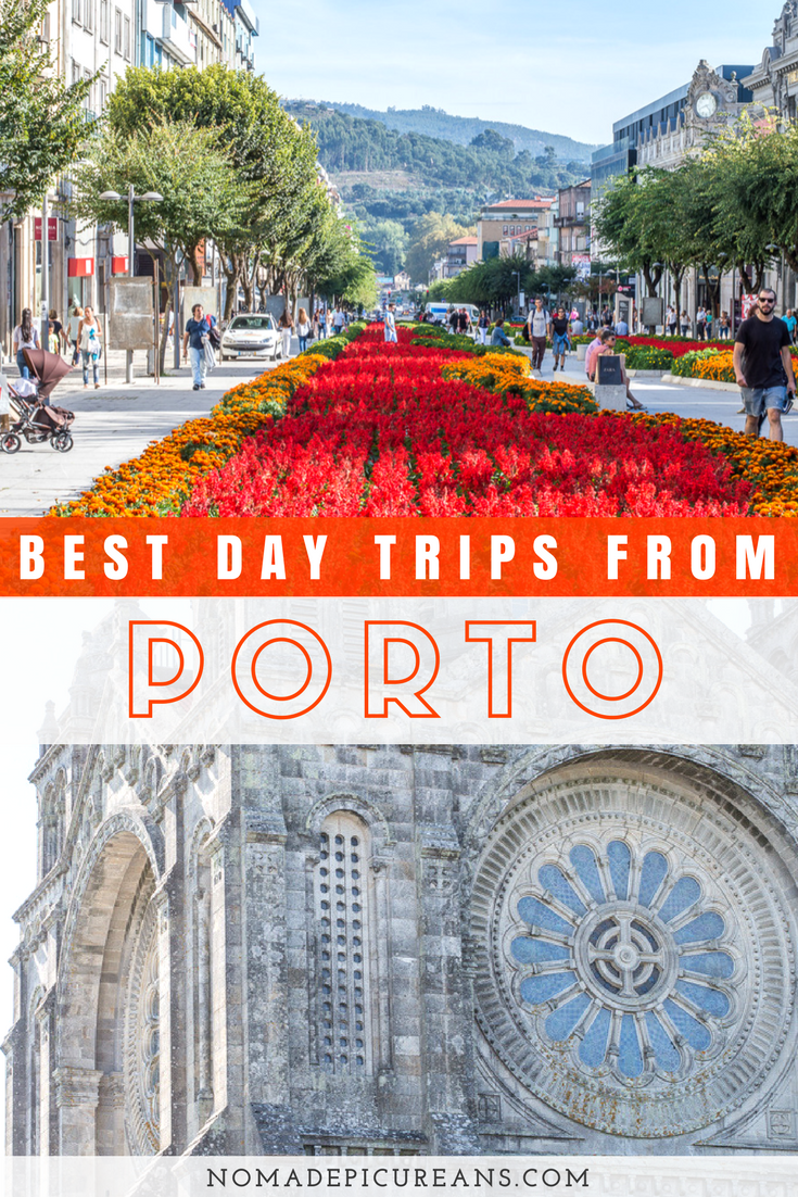Looking for day trips from Porto? Let us introduce you to the 5 best day trips from Porto, Portugal! Includes historic sights, food, sandy beaches, shopping, and more. The guide comes with practical information and a map. #porto #portugal #travel