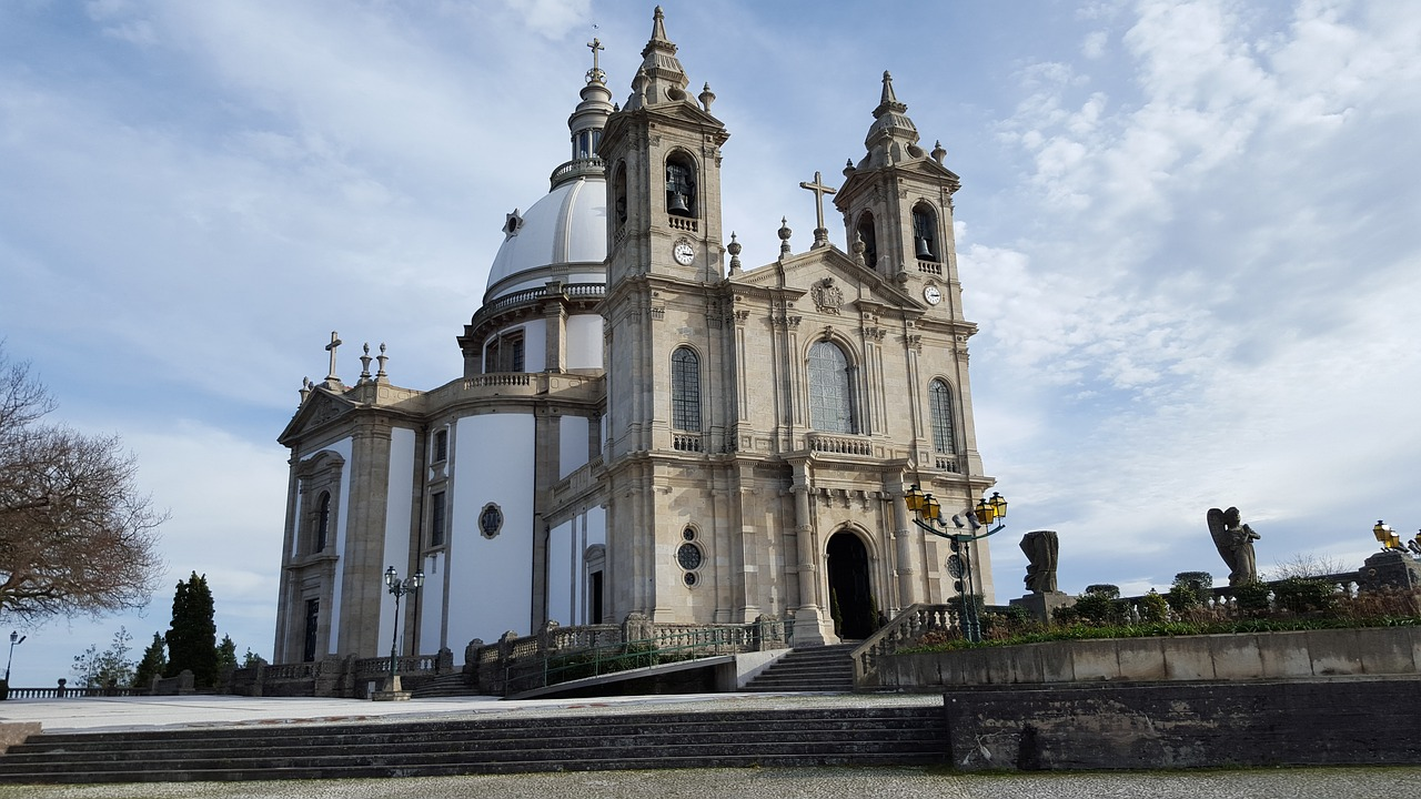 best day trips from porto Bom Jesus de Monte Braga Portugal.