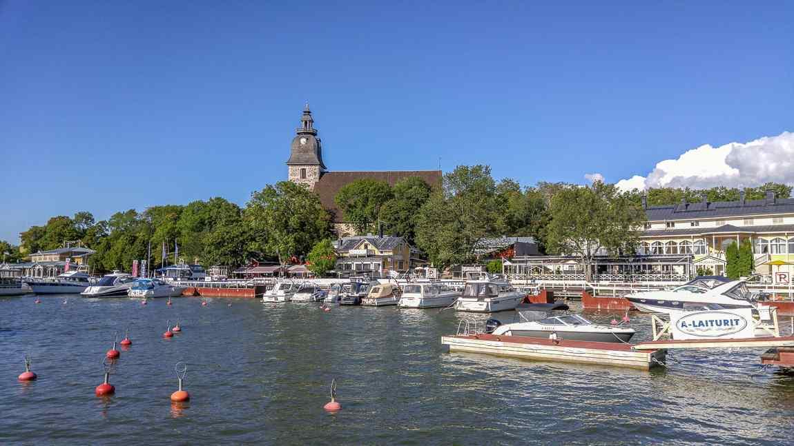 turku naantali marina harbour