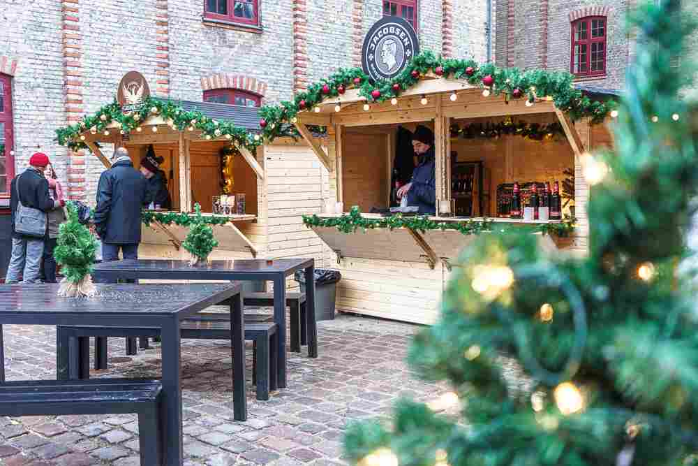 Try some Danish beer at this Christmas market in Carlsberg!