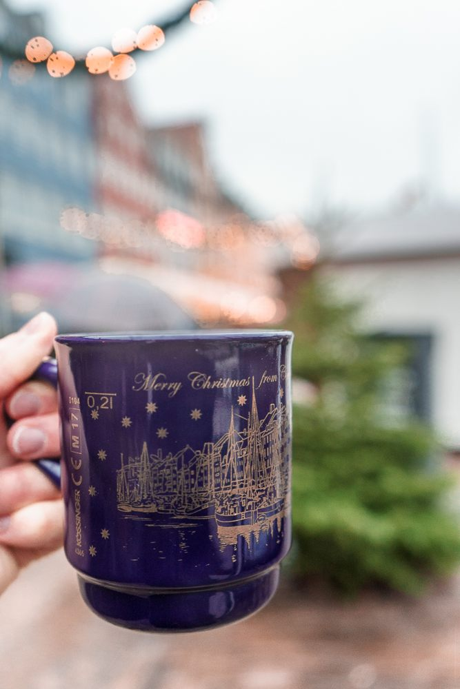 Don't forget to drink a cup of gløgg at the Christmas markets in Copenhagen.
