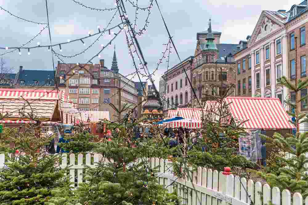 H.C. Andersen Christmas market in Copenhagen is named after the famous Danish fairytale author.