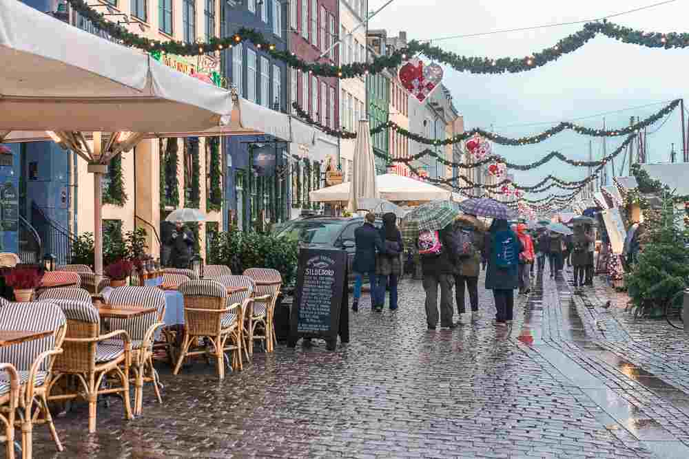 Nyhavn just sparkles a little bit more during the Christmas season in Copenhagen.