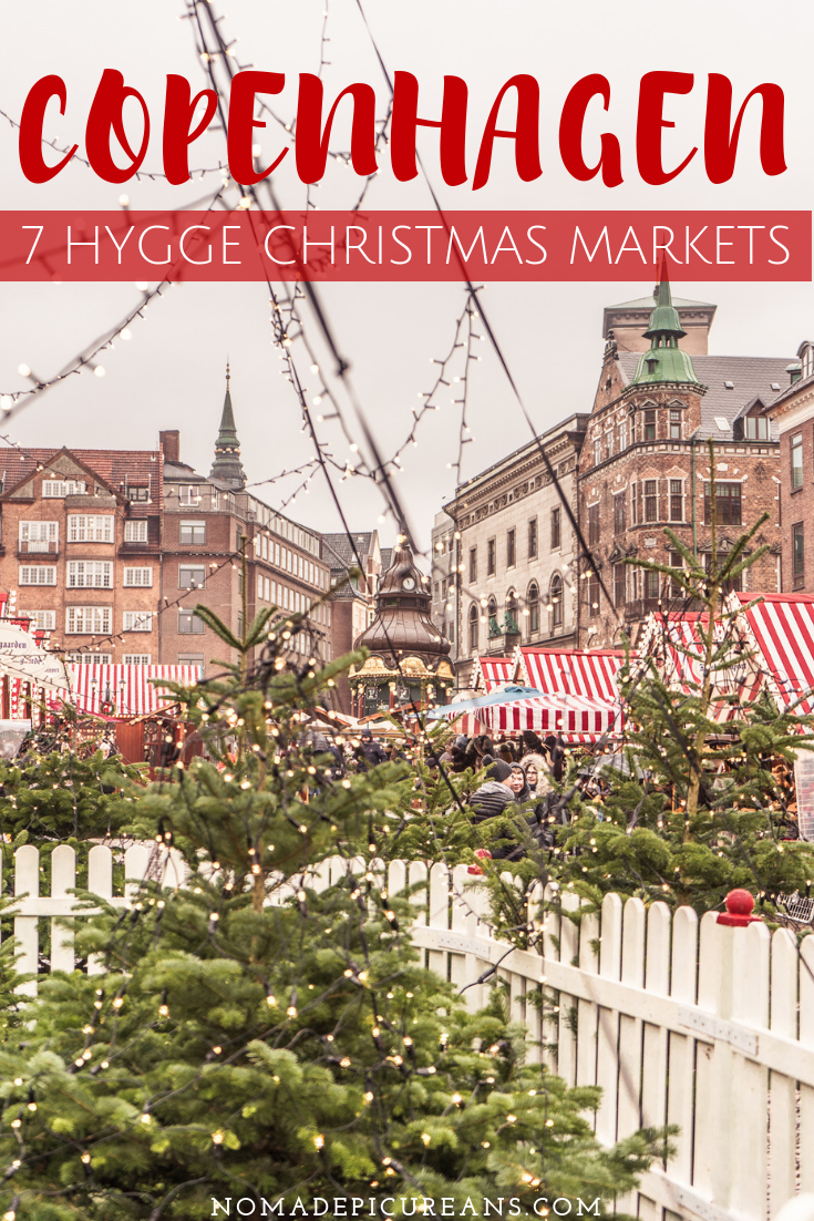 There are more than 7 beautiful Christmas markets in Copenhagen. In our detailed guide we introduce you to the most popular Christmas markets in Copenhagen as well as a few neighborhood markets and specialty Christmas markets in Copenhagen. Includes dates, addresses, map, and of course recommendation on what to eat at the Christmas markets in Copenhagen. #travel #denmark #copenhagen