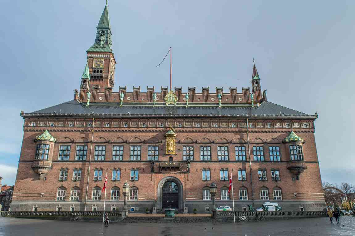 City hall is a must-see during your weekend in Copenhagen.