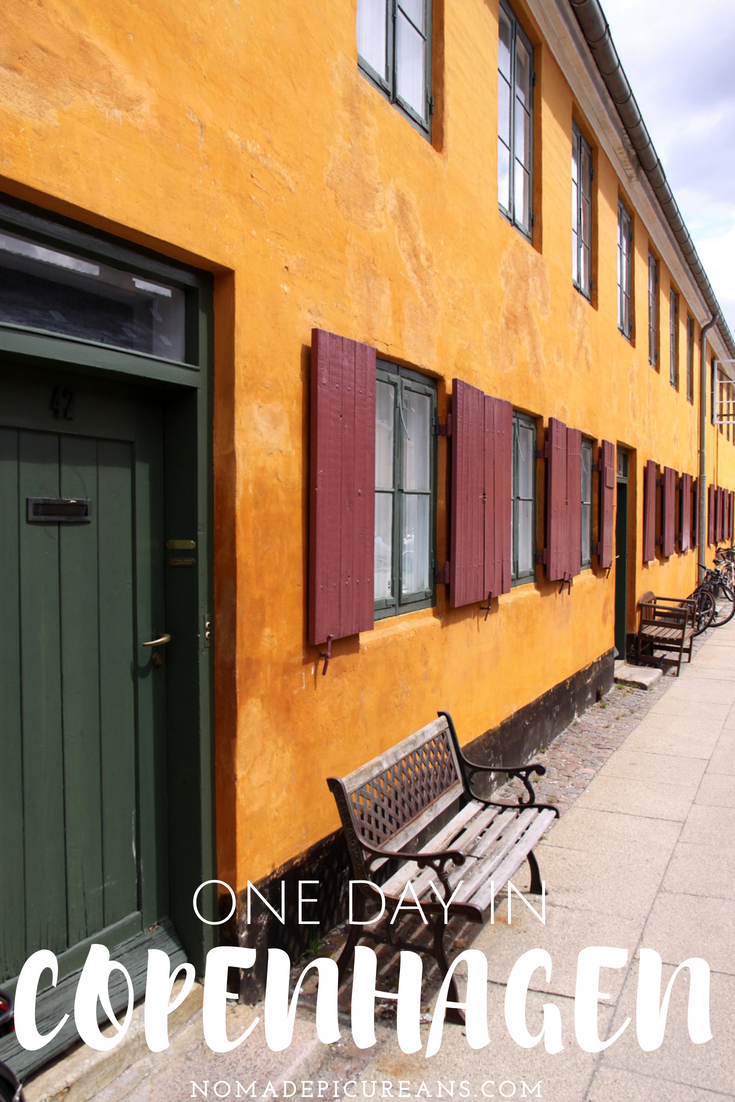 Only got one day in Copenhagen? Make the most of your 24 hours in Copenhagen with this guide by a local. It takes you past the city's most important sights as well as some hidden gems! #travel #denmark #copenhagen