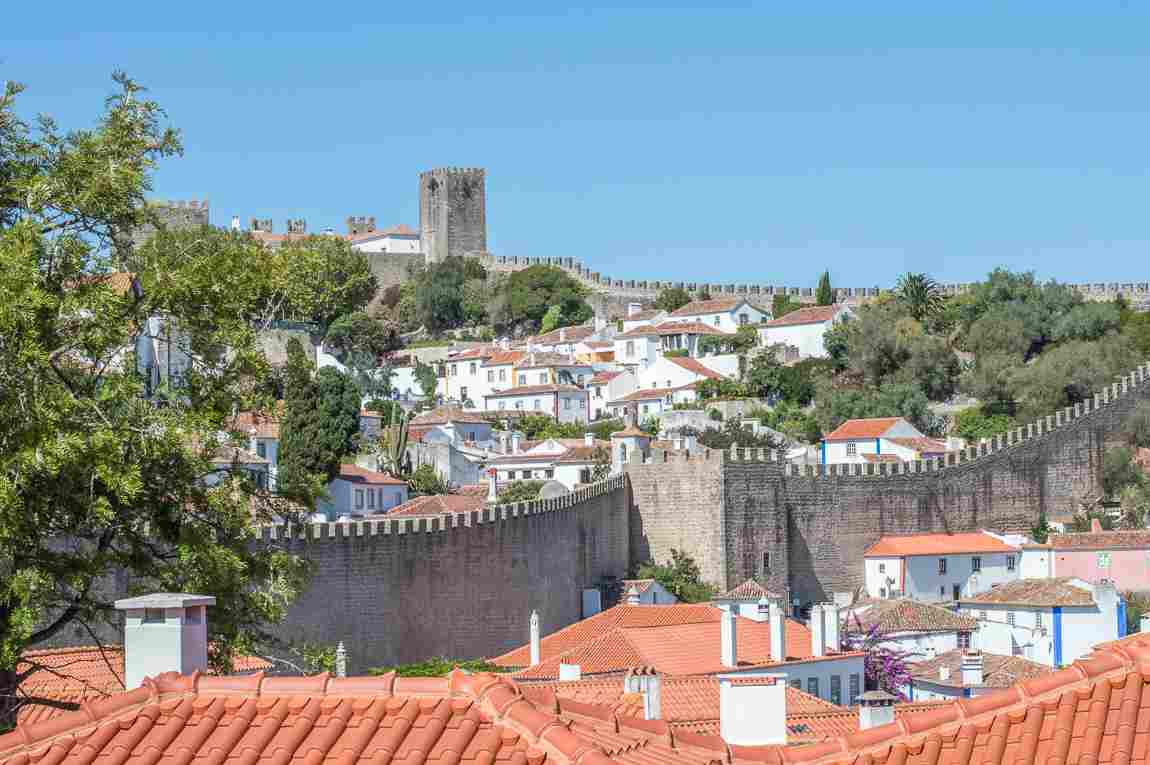 2 weeks in portugal itinerary road trip obidos