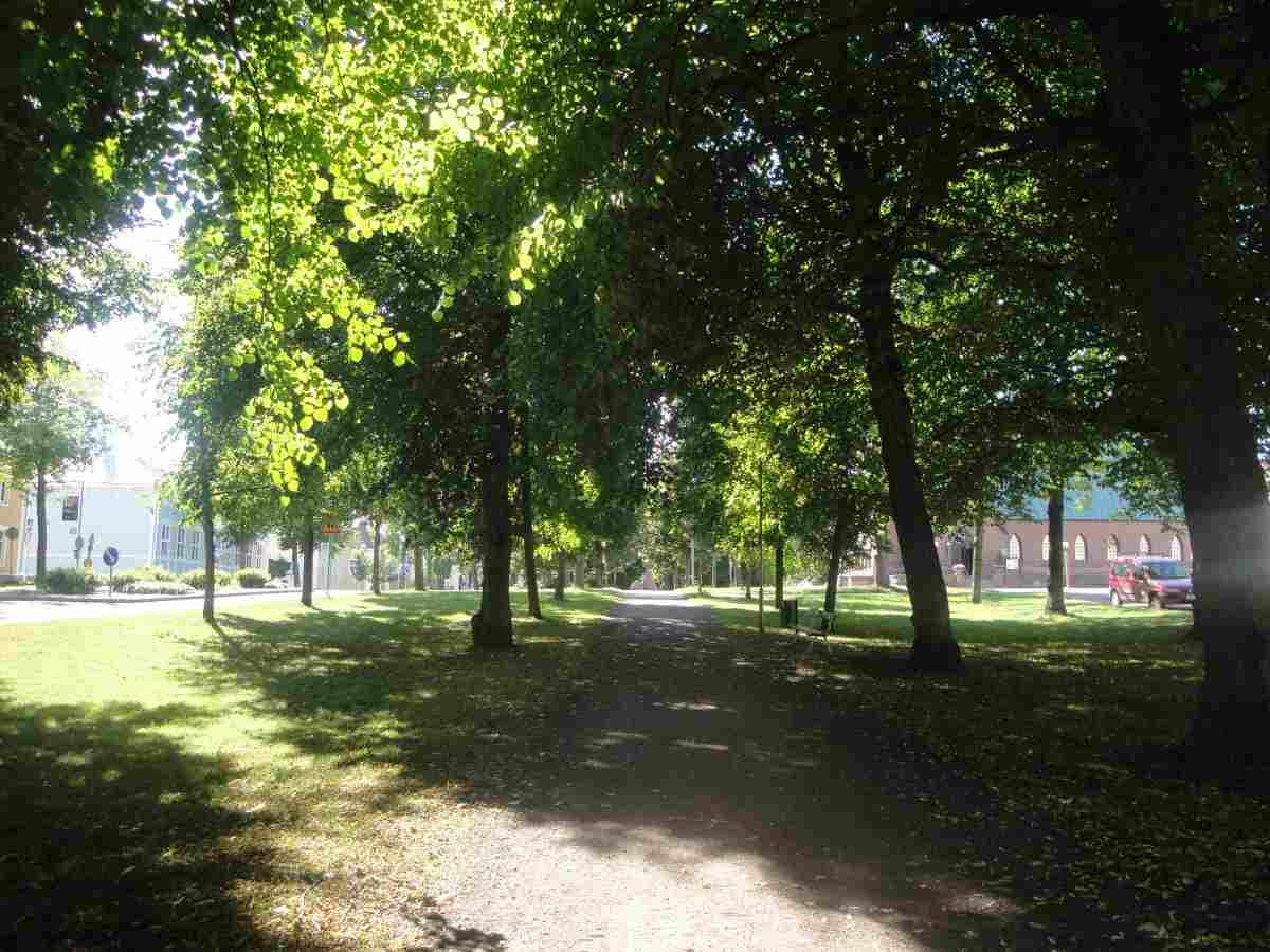 visit aland finnish archipelago esplanaden