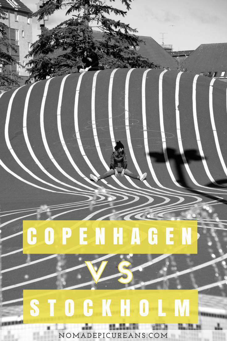 Not sure whether to visit Copenhagen or Stockholm? Read an in-depth analysis by somebody who has traveled extensively to both. Let us help you decide which Scandi capital to visit! #scandinavia #travel #stockholm #copenhagen