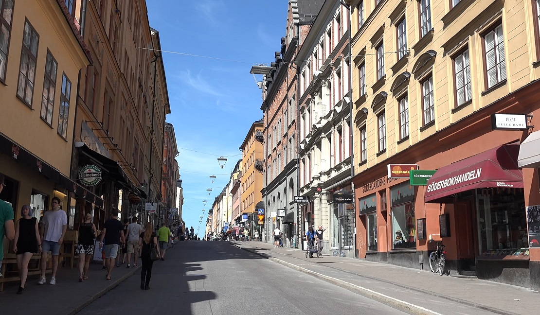 Stockholm Neighborhoods: Södermalm is known as the hipster district of Stockholm with many cafes and shops.