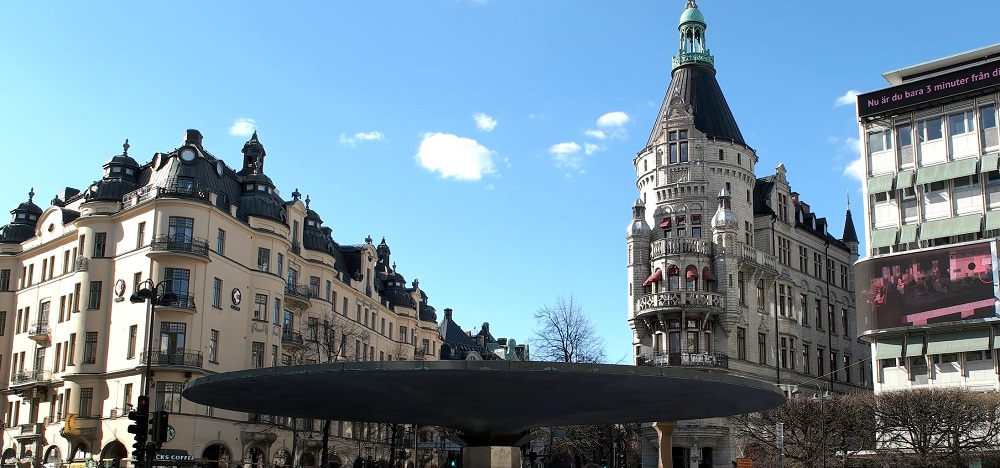 Best Stockholm areas: Östermalm is an affluent neighborhood in the east of Stockholm.