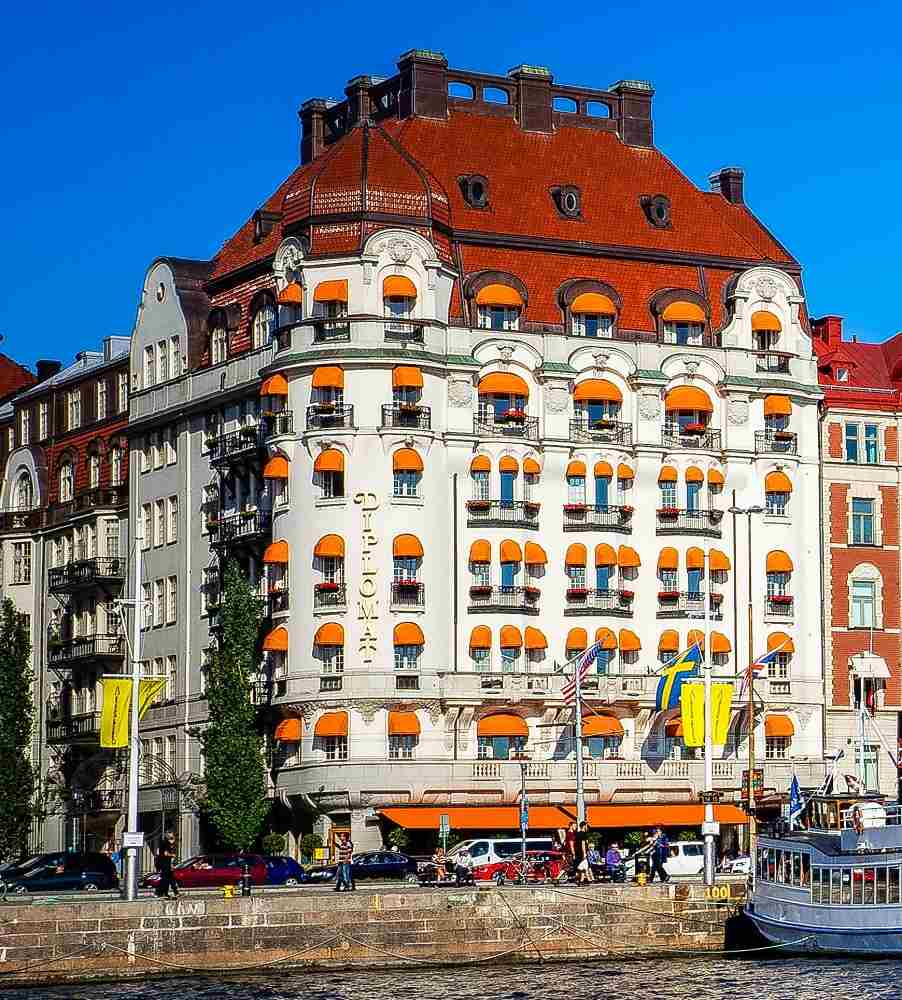Best luxury hotels in Stockholm: Hotel Diplomat is one of the city's most notable luxury hotels.