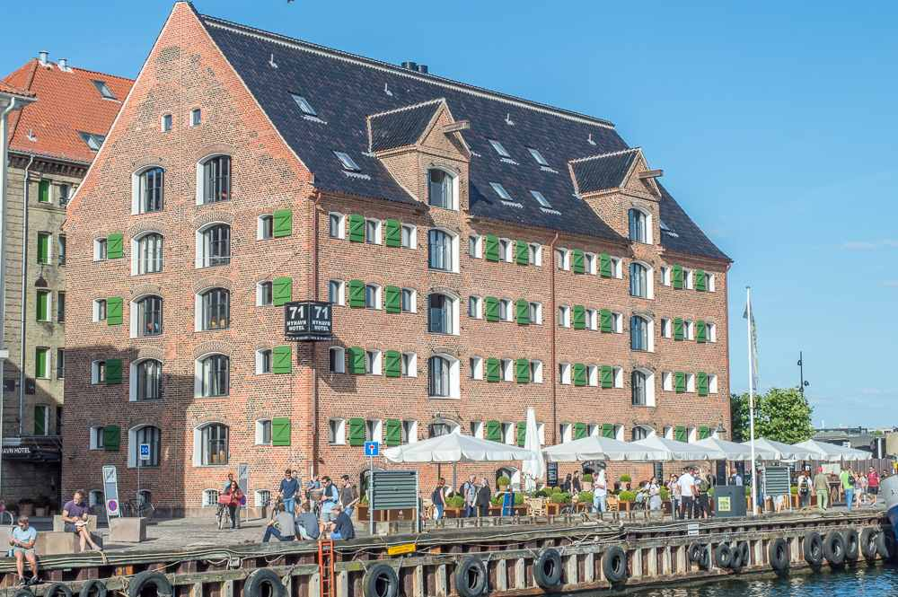 Best splurge hotels in Copenhagen: 71 Nyhavn is in a prime location, just off Copenhagen's most iconic harbor.