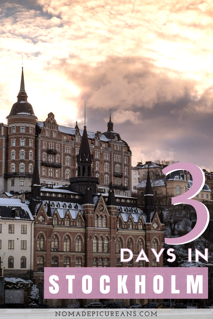 This guide for 3 days in Stockholm, Sweden explores all Stockholm highlights as well as some off-beat Stockholm neighborhoods. Comes with recommendations for which museums to see and where to eat in Stockholm. Includes a map of major sights. #travel #stockholm #sweden