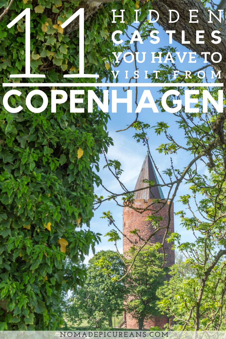 Looking for some hidden gems in Denmark? These 11 hidden castles can be visited from Copenhagen! #travel #denmark