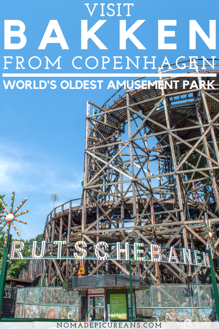 Bakken is one of the best places to visit in Copenhagen's Northern Suburbs. Visit the world's oldest amusement park, a deer park, several palaces, and more with our local's guide to Copenhagen. #travel #denmark