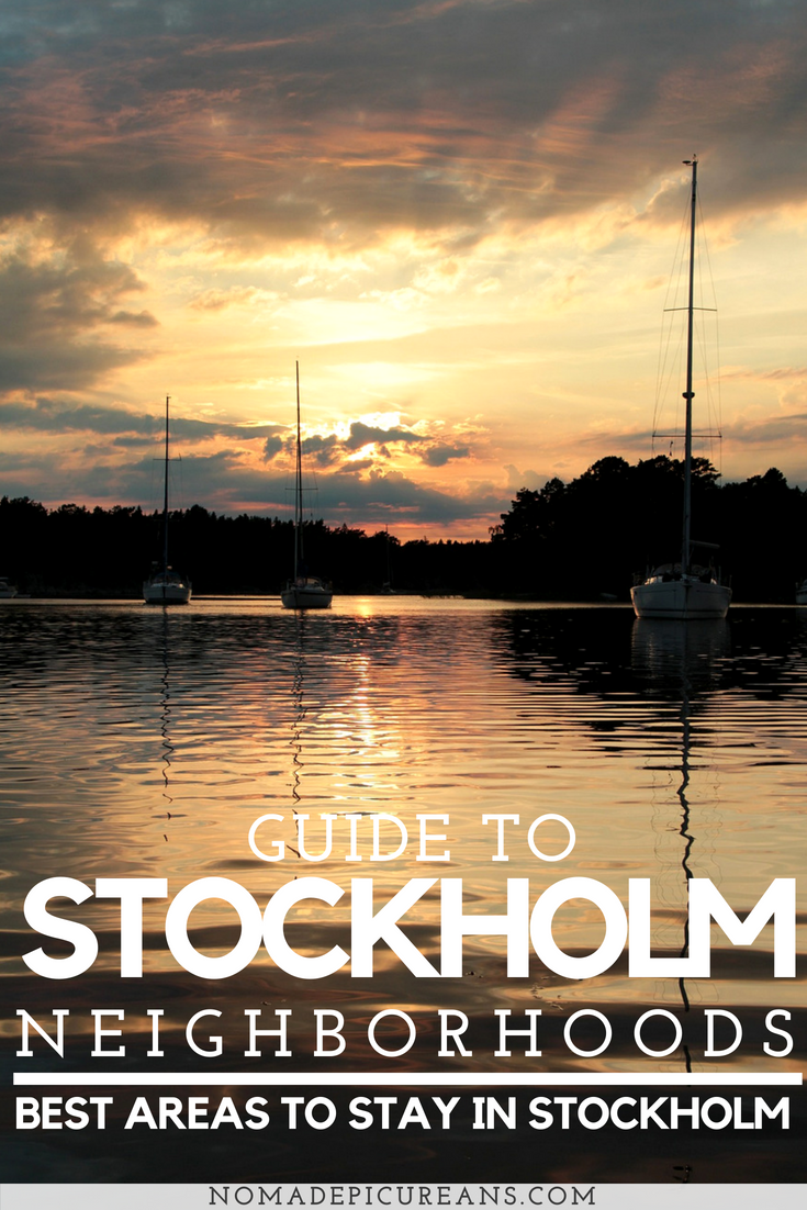 Learn about the best neighborhoods in Stockholm, Sweden and where to stay. As frequent visitors we have compiled a list of the best hotels and hostels in Stockholm. Includes a map of the best areas and hotels. #travel #sweden #stockholm