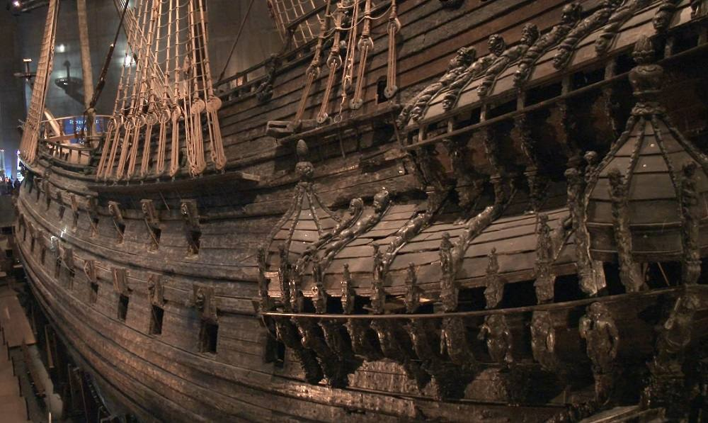 Best Museums in Stockholm: Visit the Vasa Museum in Stockholm and learn about the tragic-comic history of the ship which sunk several minutes into its maiden voyage.