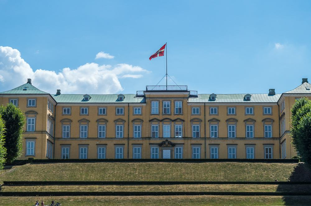 Frederiksberg Palace is only one of the palaces you can see during 2 days in Copenhagen.