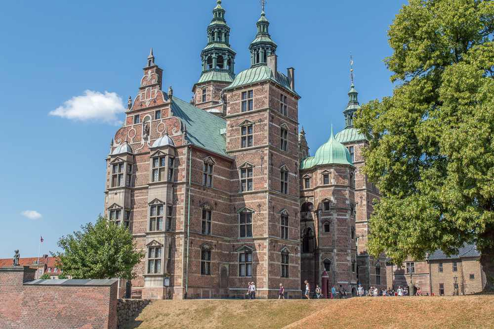 Rosenborg Castle is a must see during a weekend in Copenhagen.