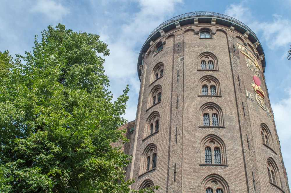 The round tower is easily recognizable and one of the top things to see in Copenhagen.