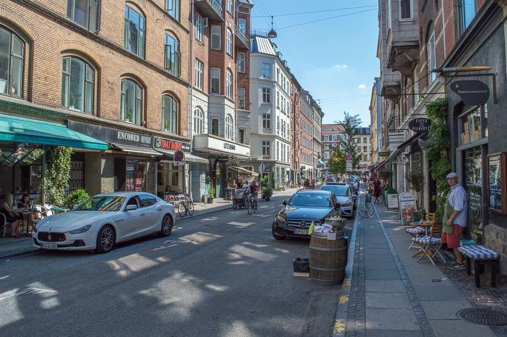 Vesterbro is the hipster district of Copenhagen.