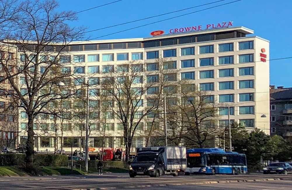 The Crown Plaza Hotel Helsinki is a great place to stay in Helsinki.
