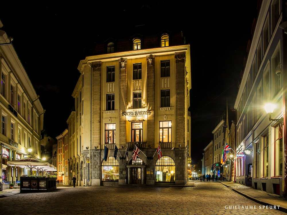 Hotel Barons is one of the best mid-range hotels in Tallinn.