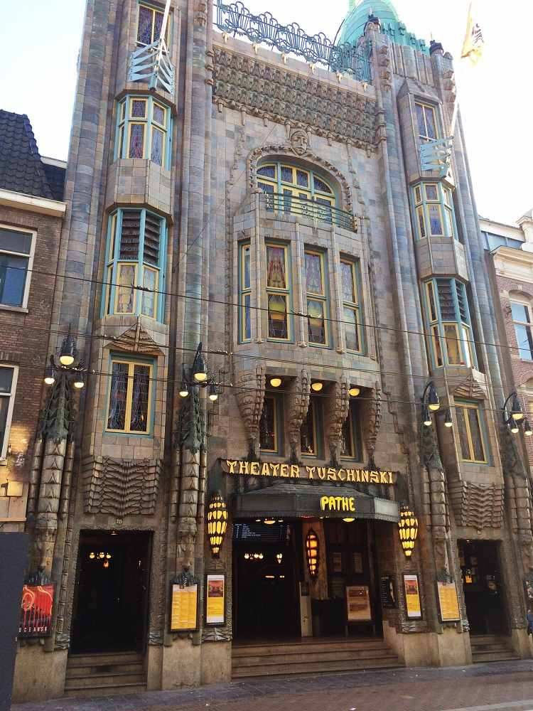 The Tuschinski Theater in Amsterdam is a great example of the Art Deco style in Europe.