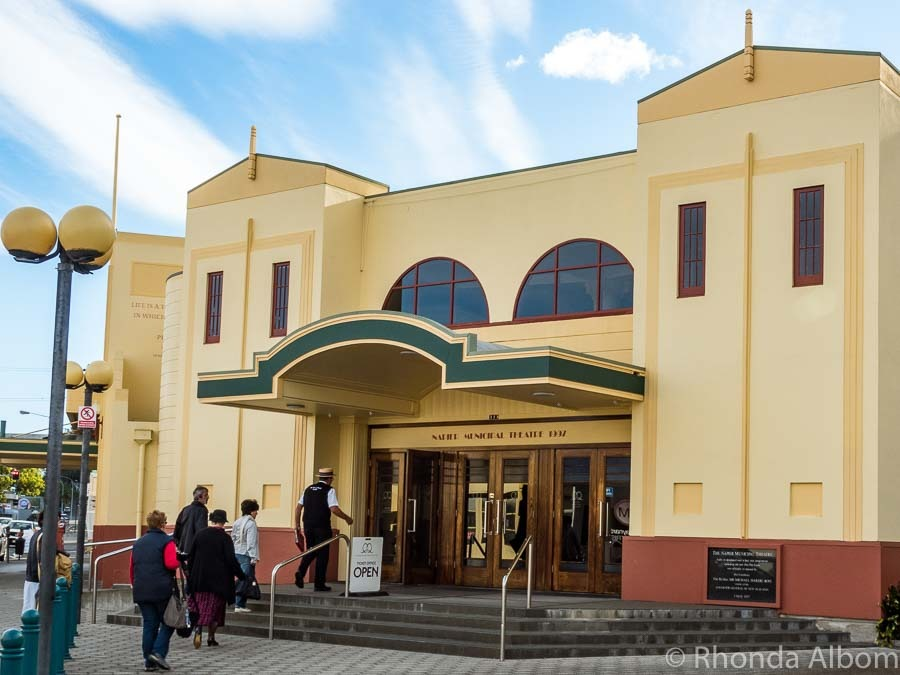 The Municipal Theatre in Napier, New Zealand - the self-proclaimed Art Deco capital of the world.