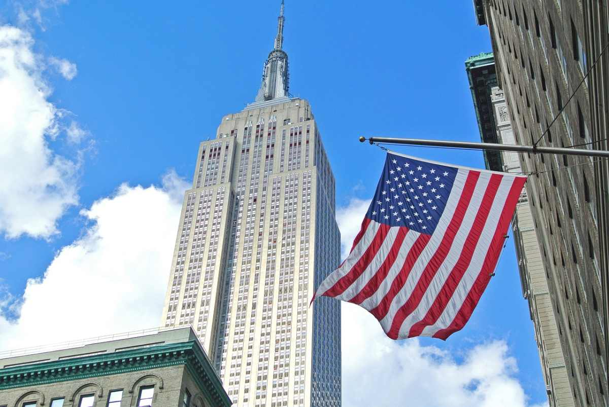 The Empire State Building in New York is quite possibly the most iconic Art Deco building in the world.