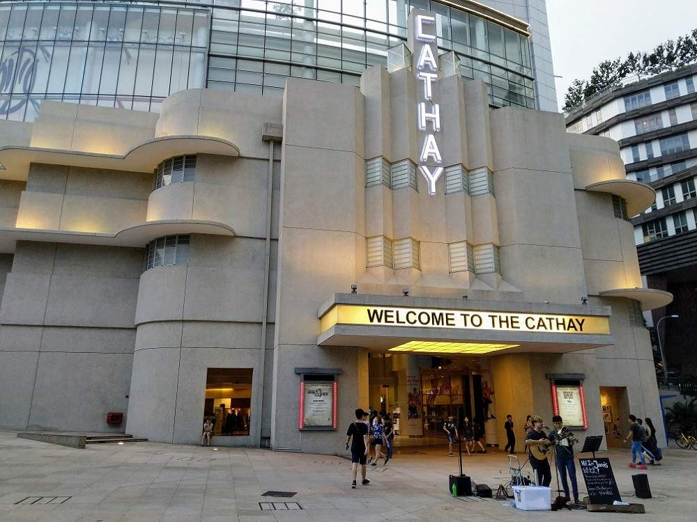 The Cathay building in Singapore is one of the city's most notable Art Deco buildings.
