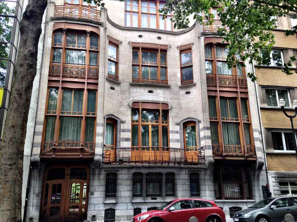 Brussels is a fabulous place to see Art Nouveau architecture in Europe.