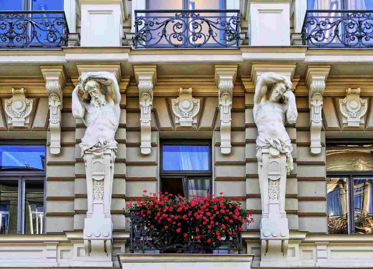 Riga is probably the best city in the world to check out Art Nouveau architecture.