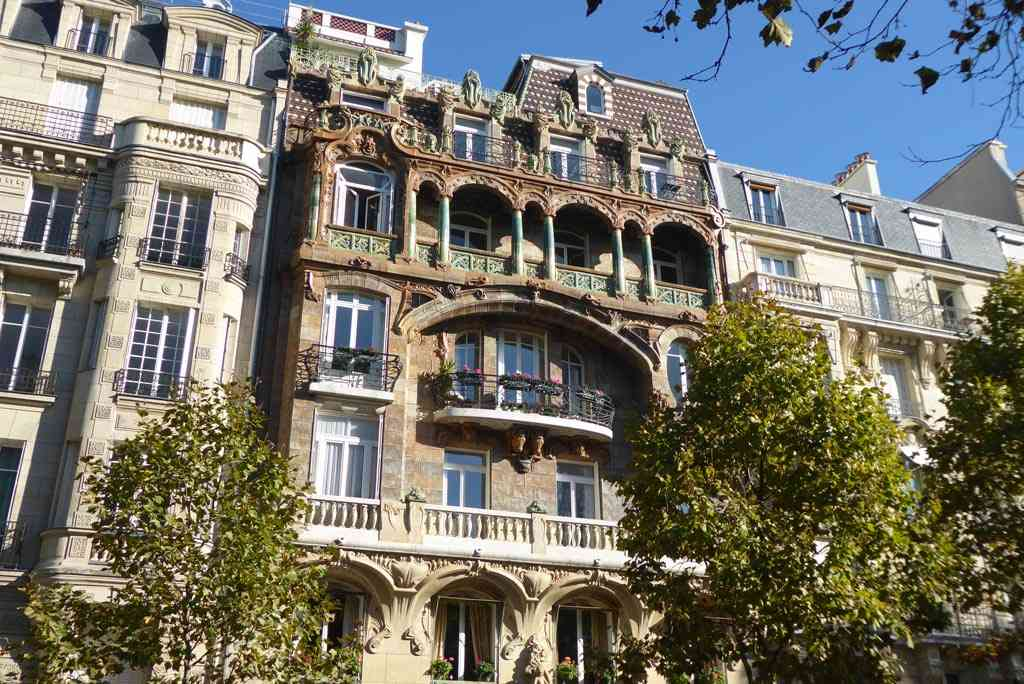 Paris is one of the best places to see Art Nouveau in Europe.