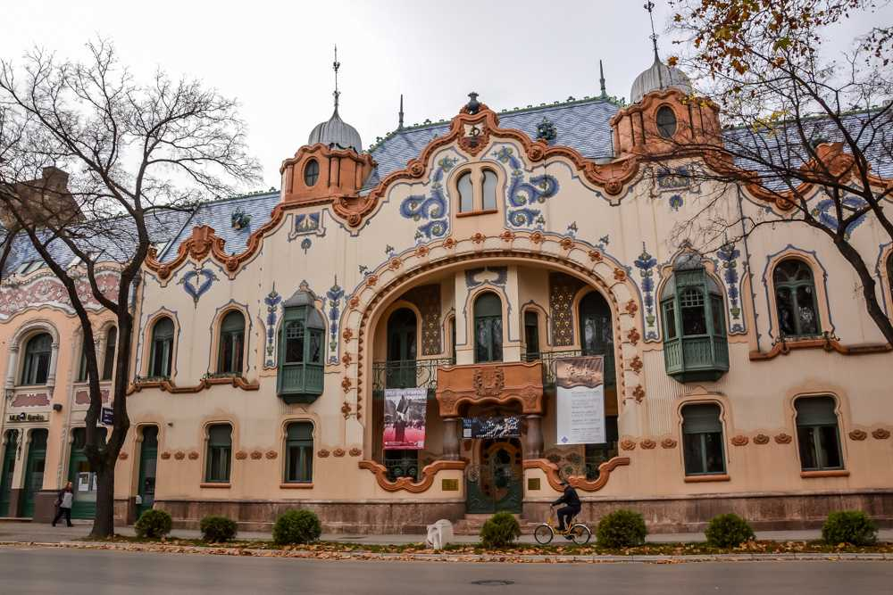 Subotica is a hidden gem for Art Nouveau lovers in Europe!