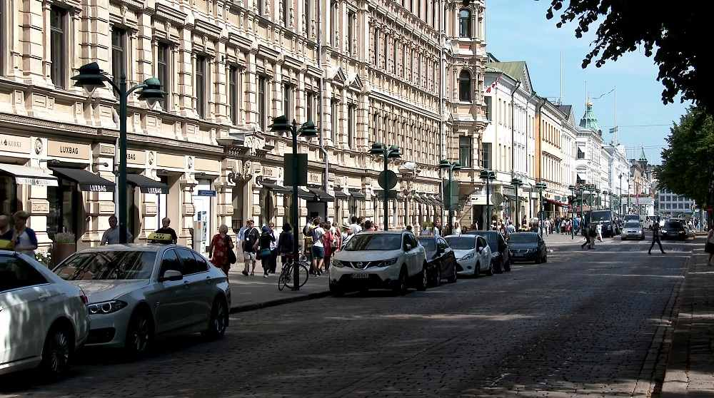 Some of the best hotels in Helsinki are located close to Bulevardi, Helsinki's upscale shopping street.