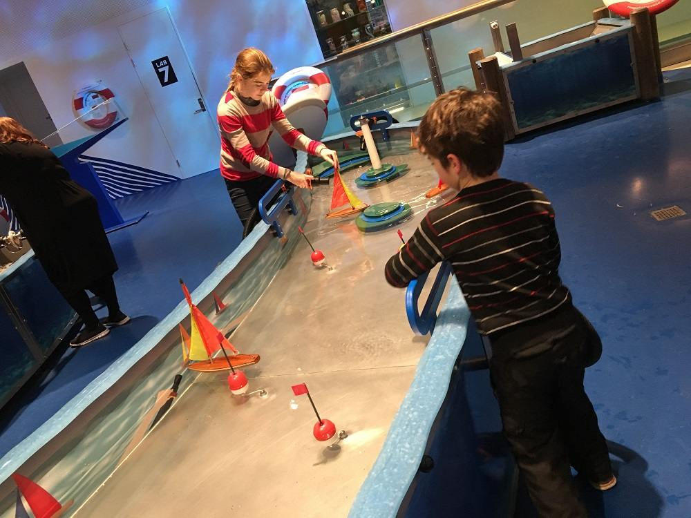 Experimentarium is one of the best things to do in Copenhagen with kids in winter.