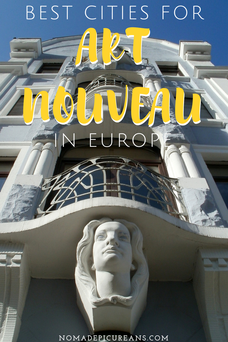Guide to the best cities for Art Nouveau Architecture in Europe. Learn about the history and some of Europe's most beautiful Art Nouveau buildings. #travel #architecture
