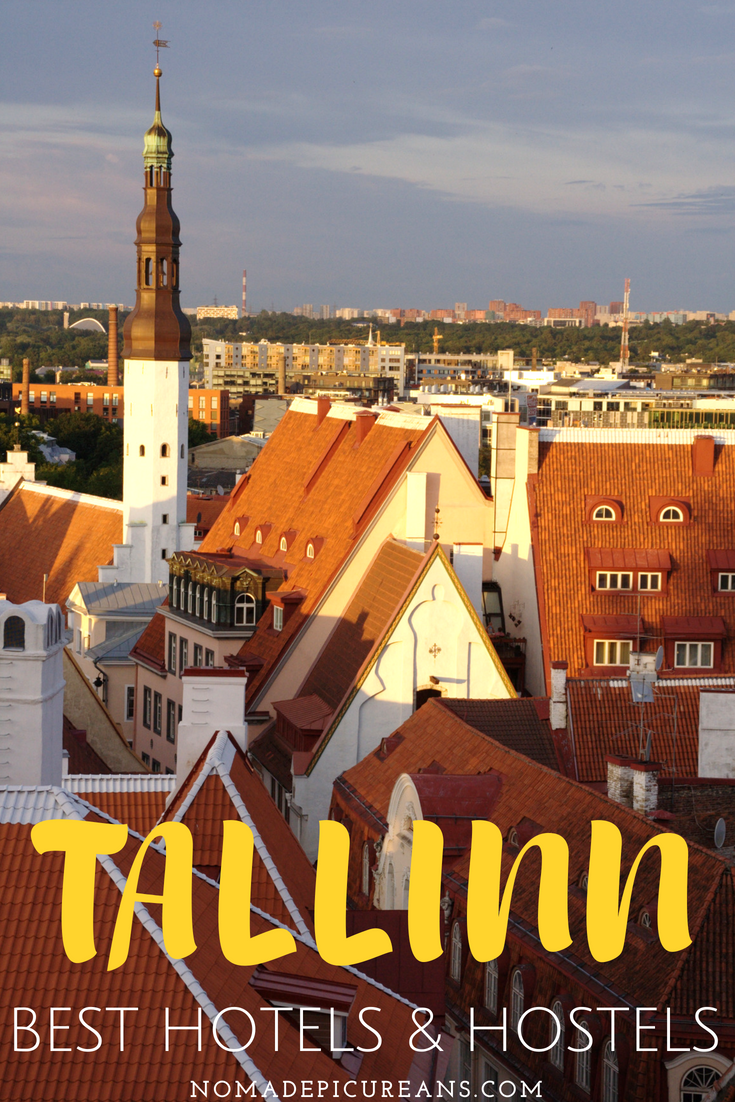 Tallinn, Estonia has hostels and hotels for all budgets. Bookmark our guide to the best accommodation in Tallinn. #travel #estonia #tallinn